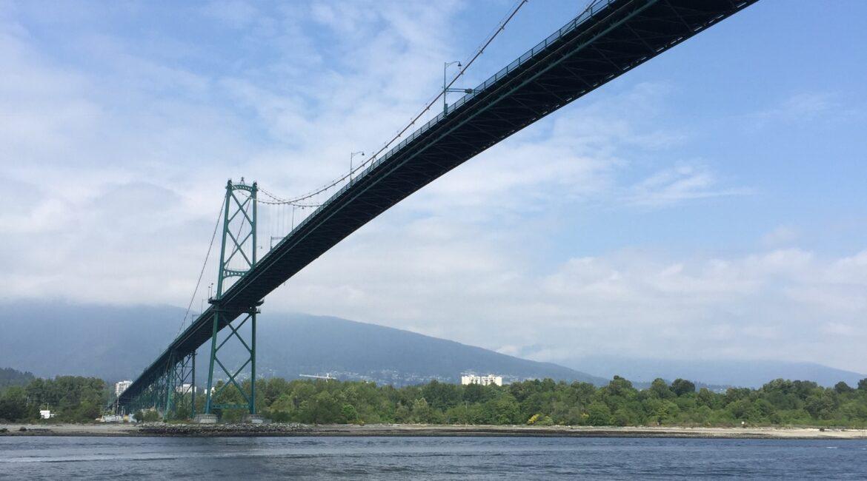 Vancouver Sea Wall bridge