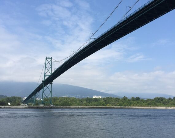 Vancouver Sea Wall bridge