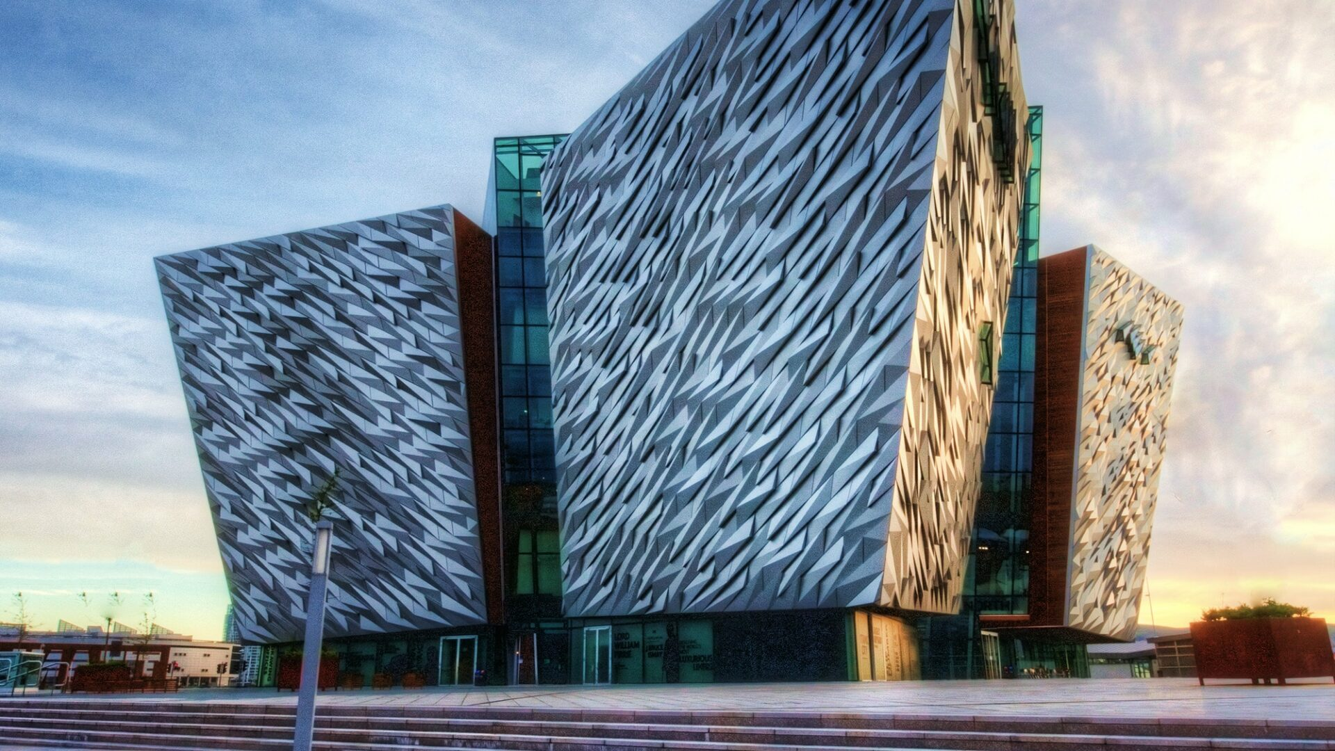 Cool architectural design and building in Belfast