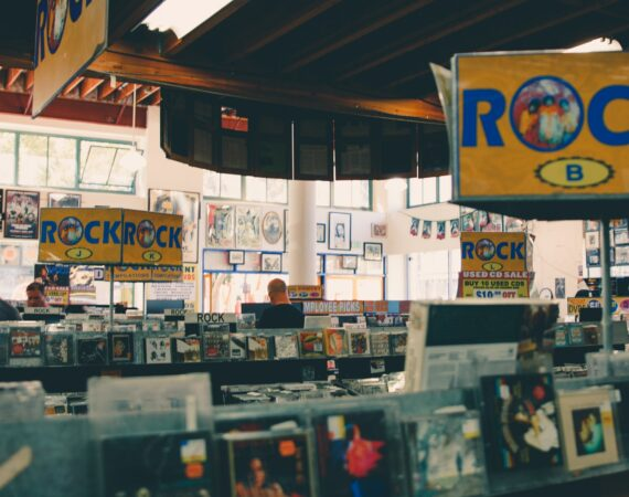 record store on telegraph ave