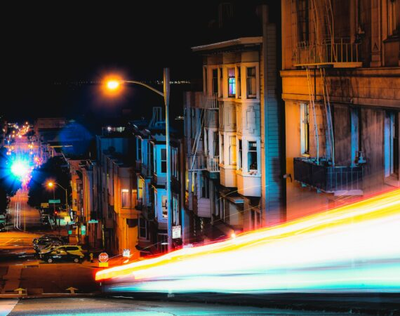 Street lights in San Francisco