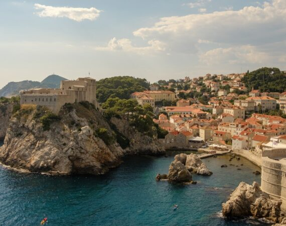 picture of Dubrovnik overhead view