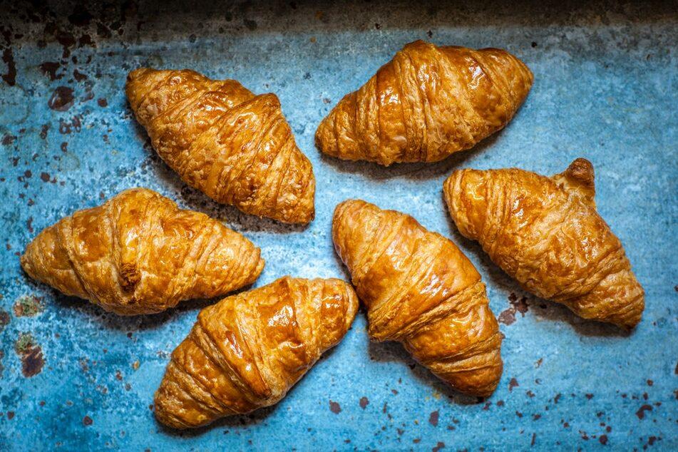 Beautiful little croissant.