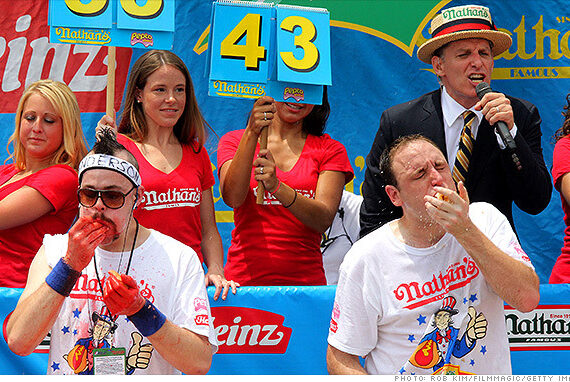 Nathan's Hotdog Eating Contest
