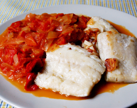Bacalao cod food Madrid