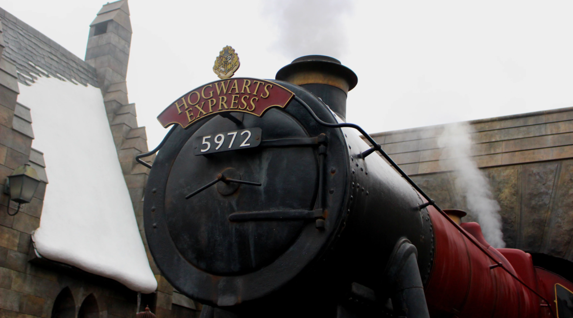 Hogwarts express in London