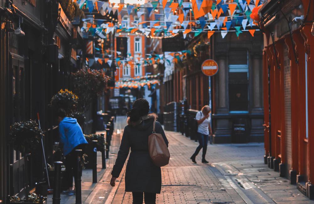Turkey colorful street