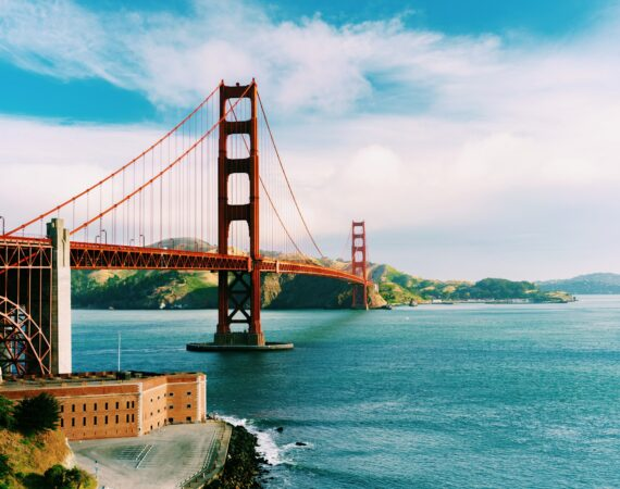 Golden Gate bridge beautiful