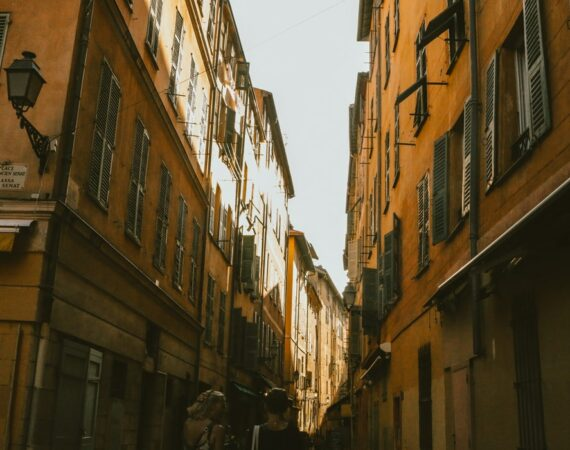 Beautiful italian street