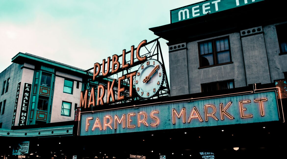 Pike Public Market in Seattle