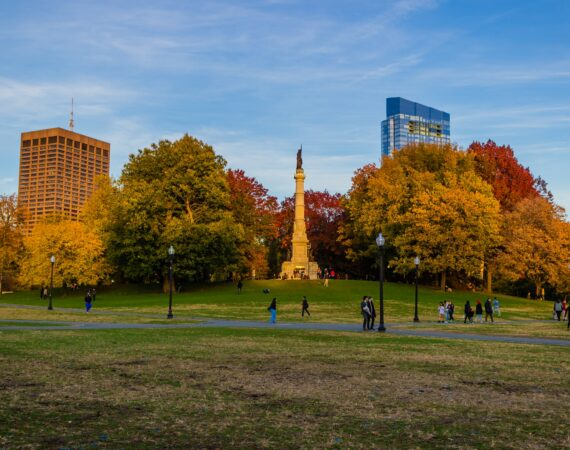 beautiful Boston park
