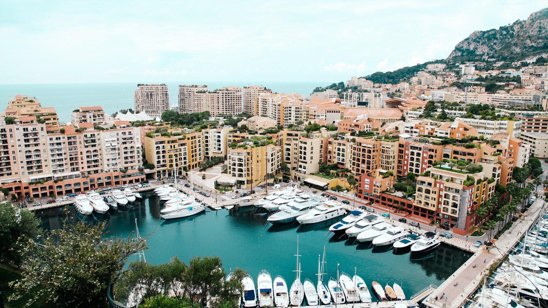 Yacht harbor in Monte Carlo