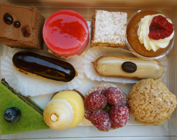 delicious french pastries