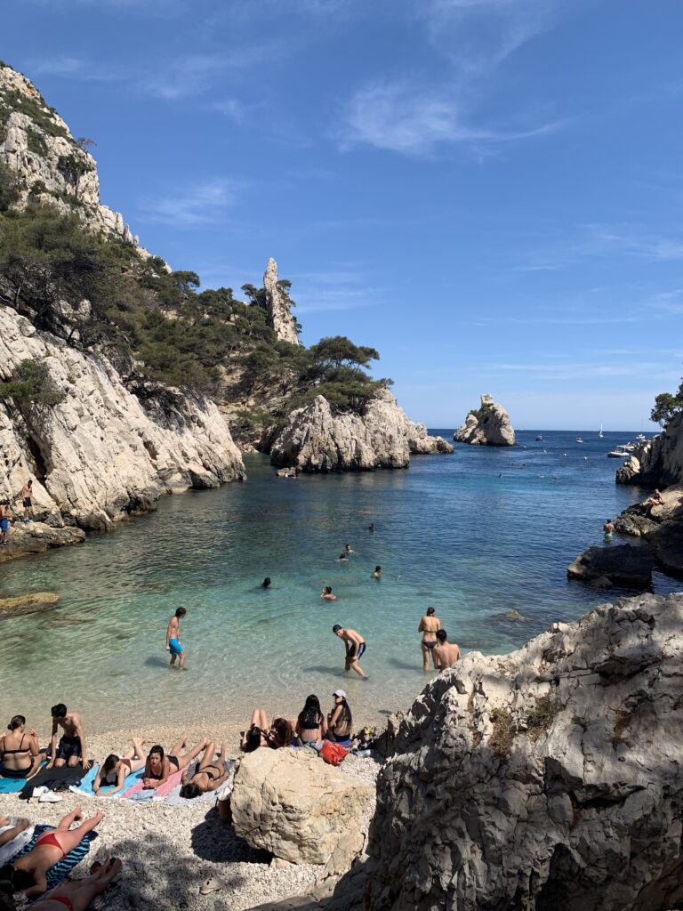 Beautiful picture of La Calanques