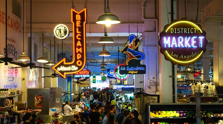 Indoor Los Angeles District Market