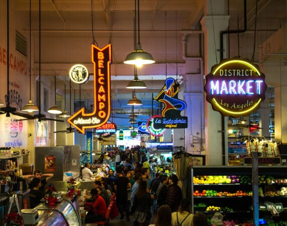 Indoor Los Angeles District Market