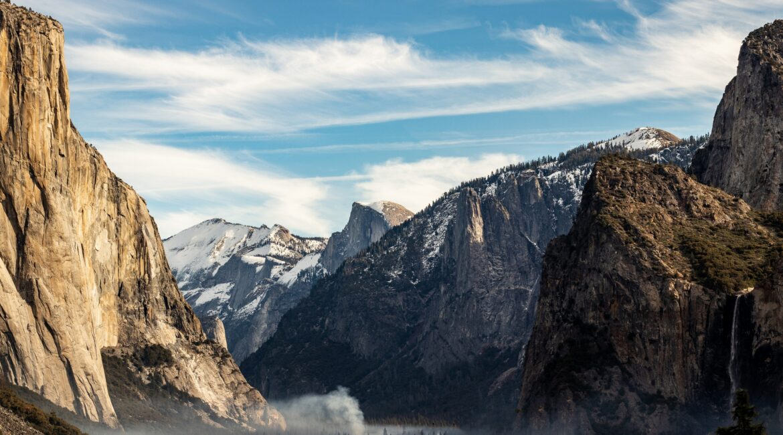 Yosemite National Park mountains