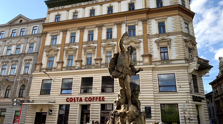 statue in olomouc